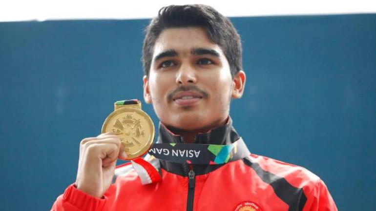 16-year-old Saurabh Chaudhary wins 4th shooting gold in 4