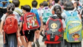 Tired eyes, burdened shoulders: Kids carrying 10kg school bags despite govt cap