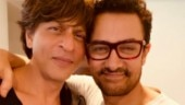 Aamir praises Zero trailer and SRK shares hug with the 'thug'. See pic