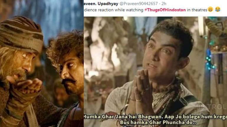 Thugs of Hindostan memes and jokes.