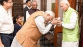 PM Modi and BJP top leaders wished party veteran LK Advani on his birthday