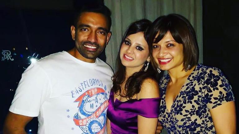 Sakshi Dhoni thanks Robin Uthappa for bringing her and MS