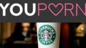 YouPorn bans Starbucks in premises after the coffee company bans porn.