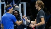 Federer revealed Zverev even apologised to him at the net after his victory (Reuters Photo)