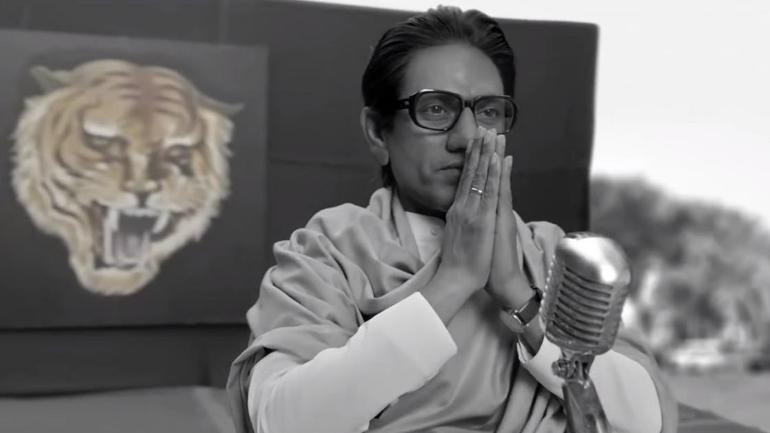 Nawazuddin Siddiqui in the film Thackeray