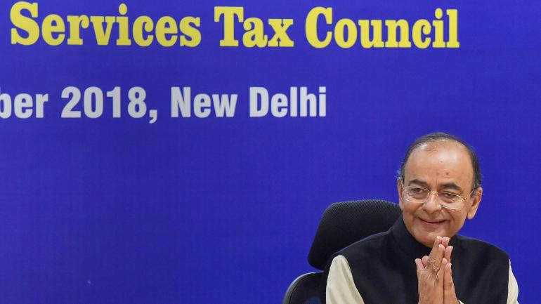 Finance Minister Arun Jaitley, GST Council Meet