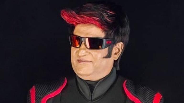 Rajinikanth as microbot 3.0
