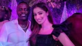 Raai Laxmi has a blast with American singer Akon. See pic