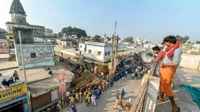 Angry saints in Ayodhya demand restoration of old temples