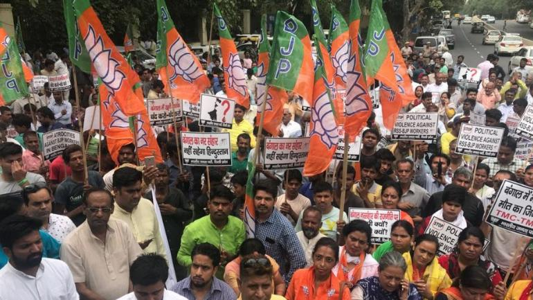 BJP worker killed in Bengal