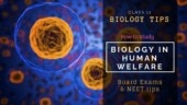 Class 12 Biology tips for board exam and NEET: How to study 'Biology in Human Welfare'