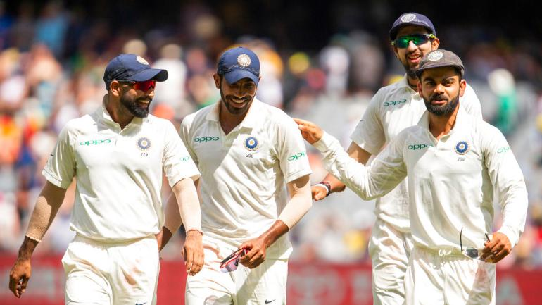 India thwarted as Cummins sends Test into final day