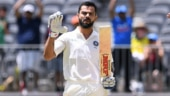 My bat does the talking: Virat Kohli's celebration after gritty Perth hundred wows fans