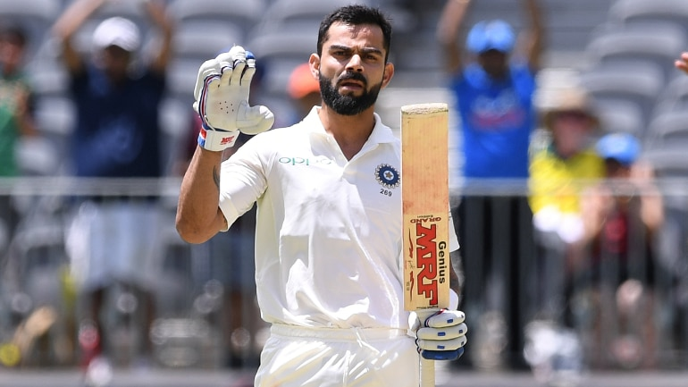 My Bat Does The Talking Virat Kohlis Celebration After Gritty
