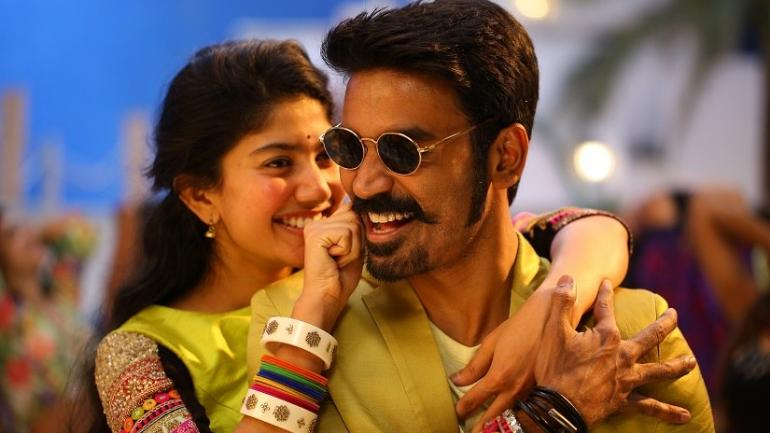 Sai Pallavi and Dhanush in Maari 2