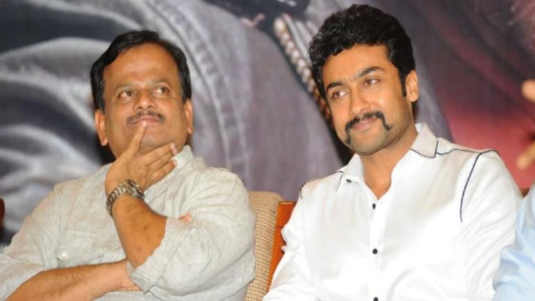 KV Anand and Suriya
