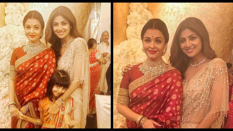 Aaradhya Teaches Mom Aishwarya And Shilpa Shetty How To -3088