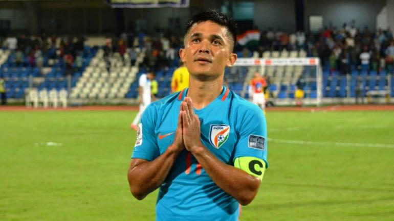 Sunil Chhetri's video on Twitter was the most retweeted in India in 2018