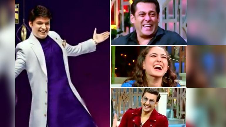 The Kapil Sharma Show new promo out: Comedy king takes Salman Khan