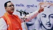Rahul Gandhi a shameless liar, desperate to see Gujarat fail: Vijay Rupani
