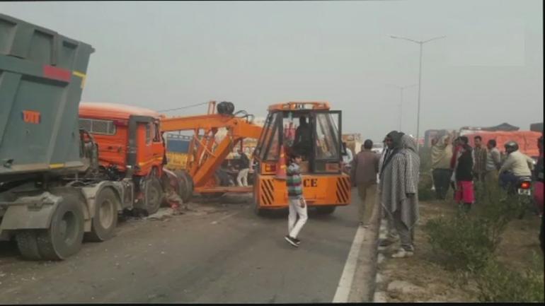 Haryana: 7 dead in accident on Rohtak-Rewari highway
