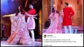 Abhishek-Aishwarya's performance at Ambani sangeet goes viral. Best jokes