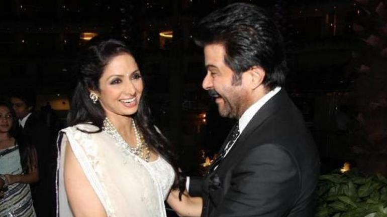 Sridevi's brother-in-law and co-star Anil Kapoor opened up about her recently.