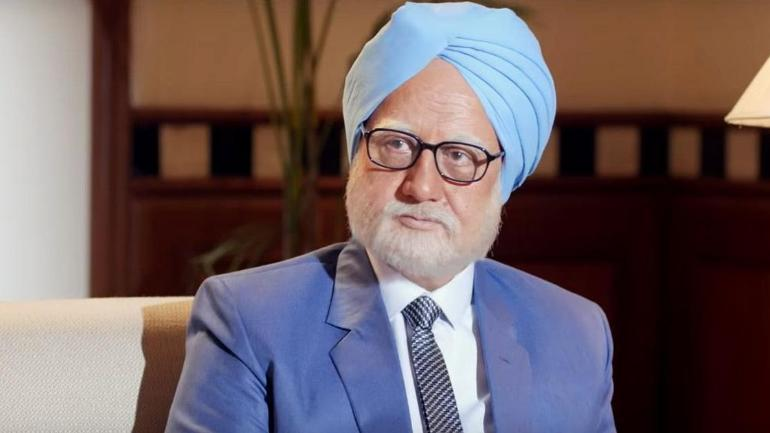 Anupam Kher is playing the role of former PM of India Manmohan Singh