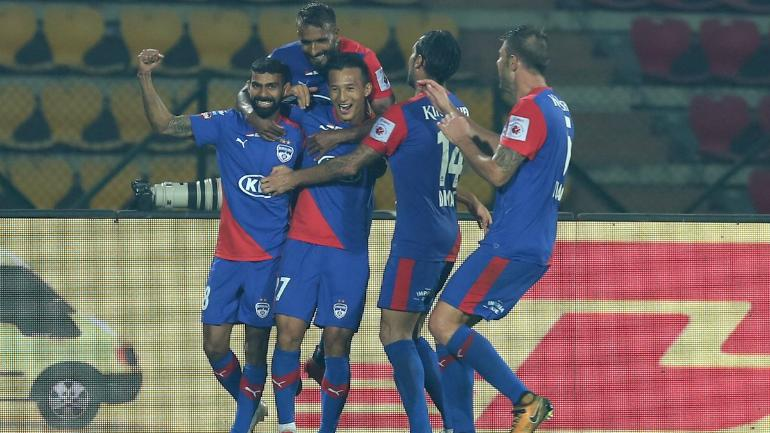 Bhutanese striker Chencho Gyeltshen ensured a point for Bengaluru (ISL Photo)