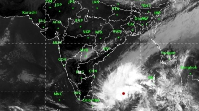 Deep depression over Bay of Bengal, Chennai to escape fury of Cyclone Phethai