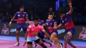 Pro Kabaddi League 2018: Jaipur Pink Panthers and Dabang Delhi play out thrilling tie