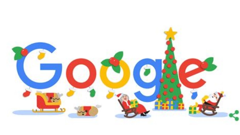 the new google doodle is the cutest