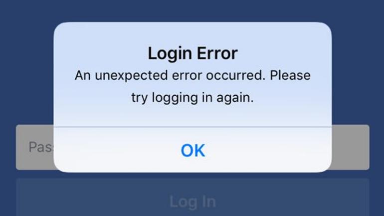 Many Facebook users forced out and can't login ...