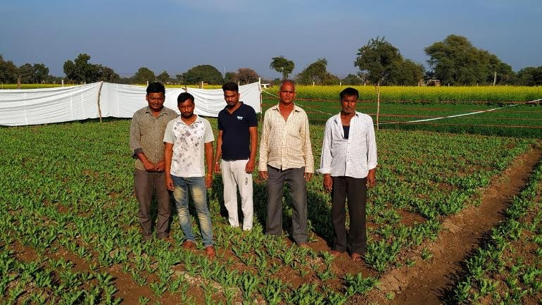 Opium producing farmers in Chittorgarh protest against new government policies