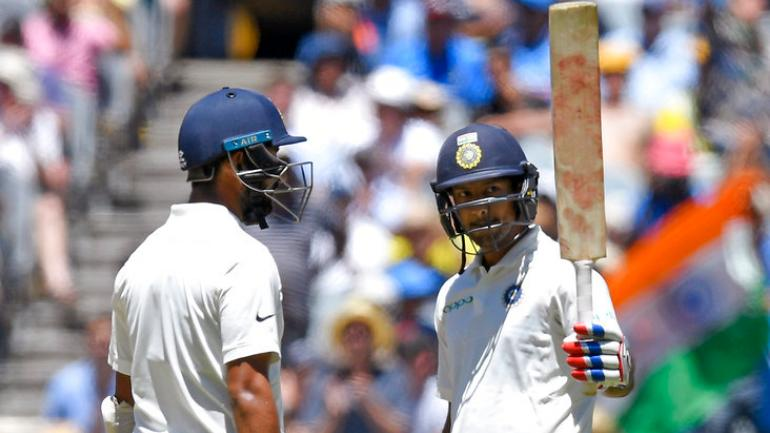 Melbourne Test: India 215/2 at stumps against Australia