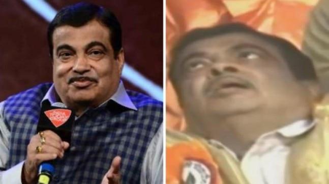 Union minister Nitin Gadkari faints on stage in Maharashtra