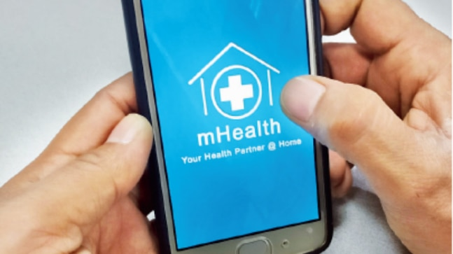 Health apps can help manage chronic illness