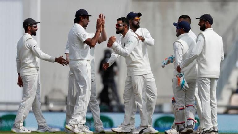 Pujara departs for 123 as India end with 250/8