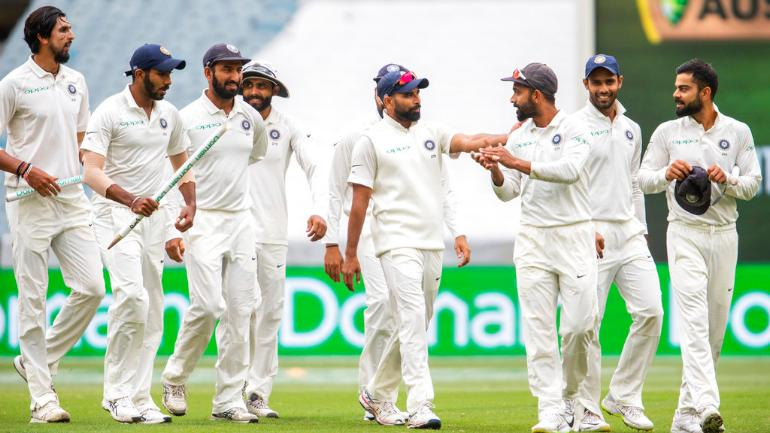 Ishant Sharma, Jasprit Bumrah and Mohammed Shami have been highly impressive in whites in 2018 (AP Photo)