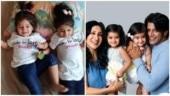 Bigg Boss 12: Karanvir Bohra's twin daughters make the cutest vote appeal for their dad