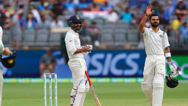 Kohli leads Indian fightback on day two in Perth