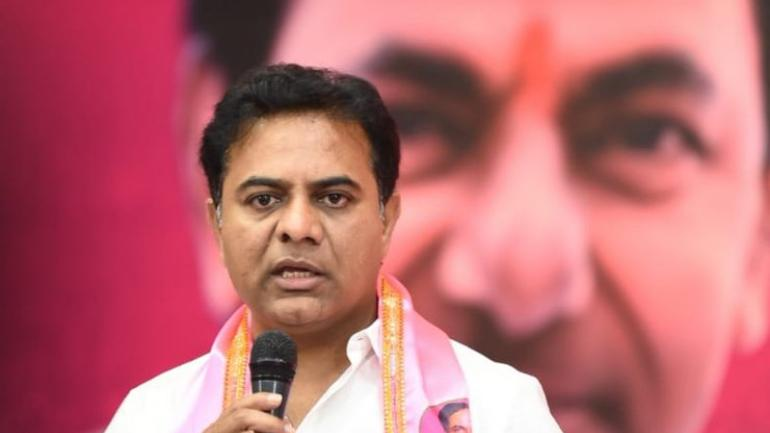 KT Rama Rao on Saturday skirted the question of him taking over his father's job as the Telangana CM. (Image: Twitter)