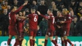 Liverpool top Premier League table before Christmas break with win over Wolves
