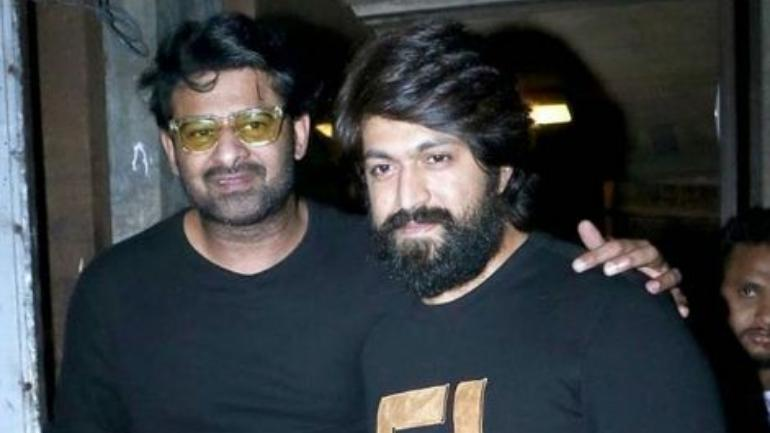 Baahubali Prabhas Spotted With Kgf Star Yash In Mumbai See Pic