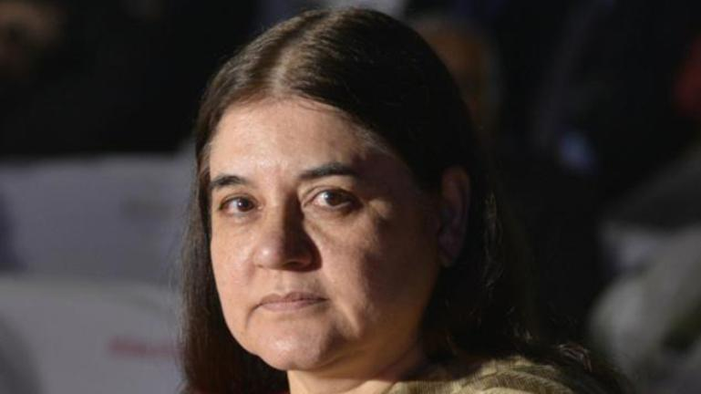 Science Fiction Side Of Everyday Life >> First Copy Of Children S Sci Fi Book Received By Maneka Gandhi
