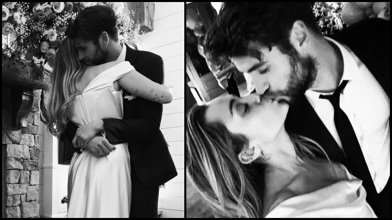 Miley Cyrus and Liam Hemsworth Tie the Knot