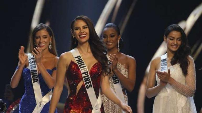 d63f3b30ed4f Philippines Catriona Gray wins Miss Universe 2018, which is PH's fourth  crown in five decades