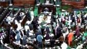 Parliament adjourned after day of ruckus, Lok Sabha passes two bills