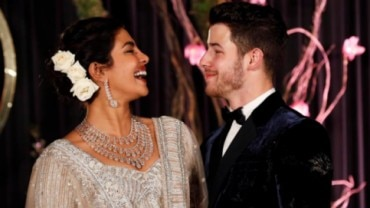Priyanka Chopra was called a global 'scam artist' who apparently trapped Nick Jonas in a 'fraudulent marriage'. Photo: Reuters
