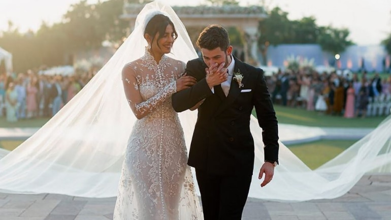 Priyanka And Nick Christian Wedding Clothes Gown With 24 Lakh